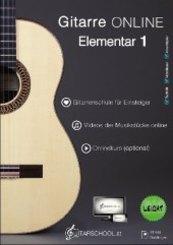 Gitarre Online Elementar - Bd.1