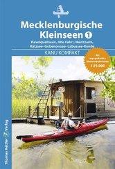 Kanu Kompakt Mecklenburgische Kleinseen, Havelquellseen, Alte Fahrt, Müritzarm, Rätzsee-Gobenowsee-Labussee-Runde
