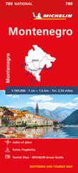 MONTENEGRO - Michelin National Map 780