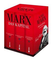 Karl Marx: Das Kapital (Vollständige Gesamtausgabe), 3 Teile