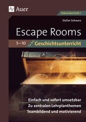 Escape-Rooms für den Geschichtsunterricht 5-10; Band II, Lieferung 2