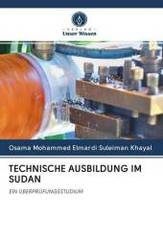 TECHNISCHE AUSBILDUNG IM SUDAN
