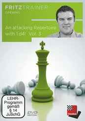 An attacking Repertoire with 1.d4 - Vol. 3, DVD-ROM