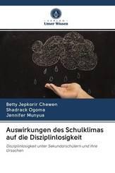 Auswirkungen des Schulklimas auf die Disziplinlosigkeit