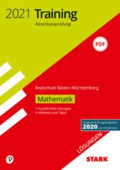 Training Abschlussprüfung Realschule 2021 - Mathematik, Lösungen - Baden-Württemberg