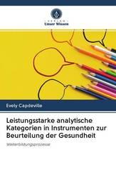 Leistungsstarke analytische Kategorien in Instrumenten zur Beurteilung der Gesundheit
