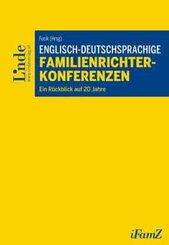 Englisch-deutschsprachige Familienrichterkonferenzen