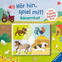 Hör hin, spiel mit! Mein Puzzle-Soundbuch: Bauernhof
