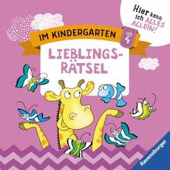 Im Kindergarten: Lieblingsrätsel