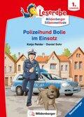 Leserabe mit Mildenberger Silbenmethode: Polizeihund Bolle im Einsatz