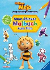 Die Biene Maja: Mein Sticker-Malbuch zum Film