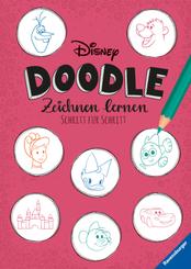 Disney Doodle - zeichnen lernen: Schritt für Schritt