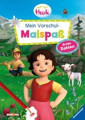 Heidi: Mein Vorschul-Malspaß Erste Zahlen