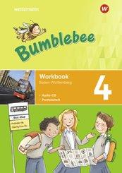 Bumblebee - Ausgabe 2020 für das 3. / 4. Schuljahr in Baden-Württemberg - Workbook 4