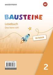 BAUSTEINE Lesebuch - Ausgabe 2021 - Diagnoseheft 2 10er Set