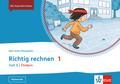 Mein Anoki-Übungsheft - Richtig Rechnen 1. Heft B | Fördern