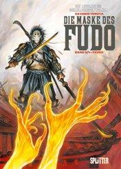 Legende der scharlachroten Wolken, Die Maske des Fudo, Feuer