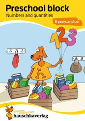 Preschool block - Numbers and quantities 5 years and up, A5-Block