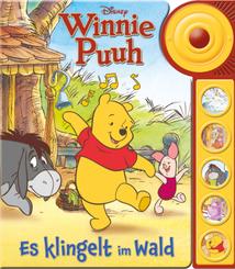 Disney Winnie Puuh: Es klingelt im Wald - Soundbuch - Pappbilderbuch mit Klingelknopf und 5 lustigen Geräuschen für Kind