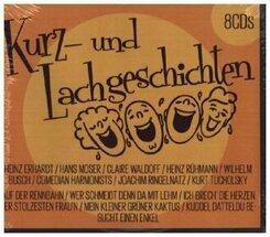 Kurz- und Lachgeschichten, 8 Audio-CD