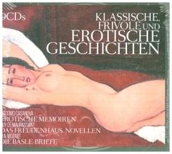 Klassische, frivole und erotische Geschichten, 9 Audio-CD