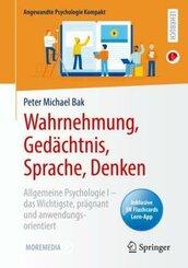 Wahrnehmung, Gedächtnis, Sprache, Denken; Buch 2
