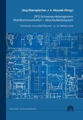 DFG Schwerpunktprogramm Mobilkommunikation - Abschlußkolloquium