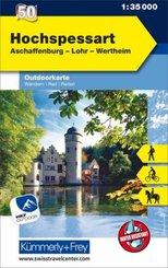 Hochspessart, Aschaffenburg, Lohr, Wertheim