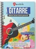 Gitarre lernen leicht gemacht für Kinder, m. DVD
