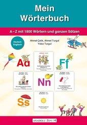 Mein Wörterbuch, Deutsch-Englisch