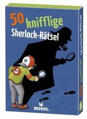 50 knifflige Sherlock-Rätsel (Kinderspiel)