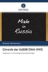 Chronik der UdSSR (1961-1991)