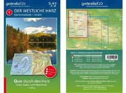 Wanderkarte Der Westliche Harz 1:50.000