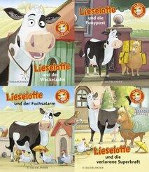 Lieselotte TV-Minis 4er-Set. Die Bücher zur Serie (Bundle Nr. 2)