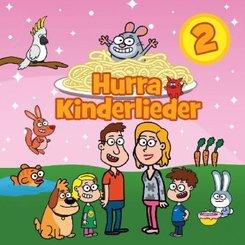 Hurra Kinderlieder, 1 Audio-CD - Tl.2