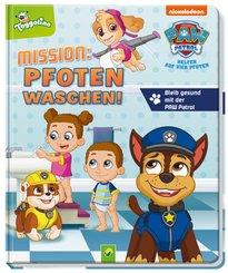 Mission: Pfoten waschen - Bleib gesund mit der Paw Patrol