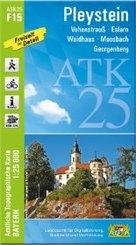 ATK25-F15 Pleystein (Amtliche Topographische Karte 1:25000)