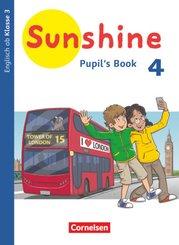 Sunshine - Englisch ab Klasse 3 - Allgemeine Ausgabe 2020 - 4. Schuljahr