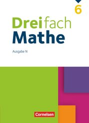 Dreifach Mathe - Ausgabe N - 6. Schuljahr
