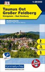 Taunus Ost - Grosser Feldberg - Königstein, Bad Homberg