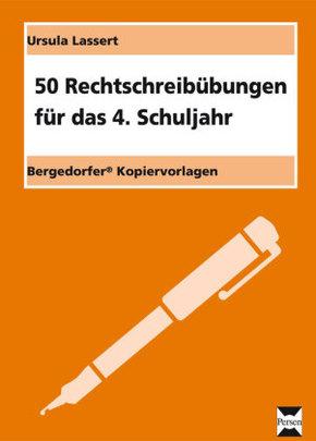 50 Rechtschreibübungen für das 4.Schuljahr