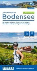 ADFC-Regionalkarte Bodensee