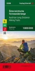 Österreichische Fernwanderwege, Weitwanderkarte 1:800.000