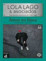 Amor en línea, m. Audio-CD, MP3