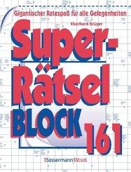 Superrätselblock - Bd.161