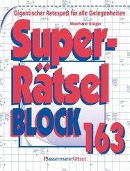 Superrätselblock - Bd.163