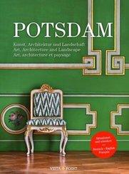 Potsdam,  Cover: Grünes Lackkabinett