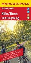 MARCO POLO Freizeitkarte Köln und Umgebung 1:110 000