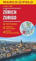MARCO POLO Cityplan Zürich 1:12 000