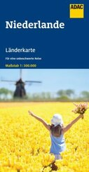 ADAC LänderKarte Niederlande 1:300 000